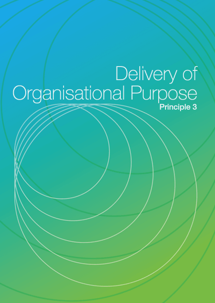 Delivery of Organisational Purpose DIY cover